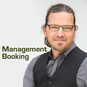Martin Matzinger, Musikmanagement, Booking